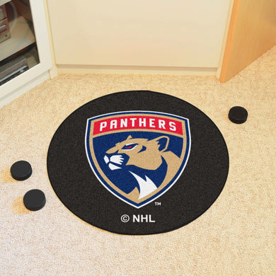 Florida Panthers Hockey Puck Rug - 27