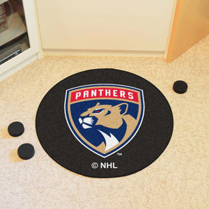 Florida Panthers Hockey Puck Rug - 27""