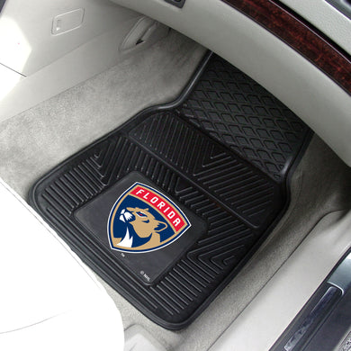 Florida Panthers 2-Piece Vinyl Car Mats - 18