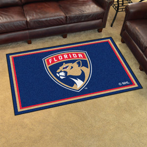 Florida Panthers Plush Rug - 4'x6'