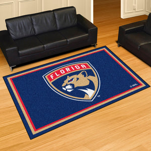 Florida Panthers Plush Rug - 5'x8'