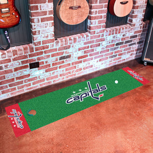 "Washington Capitals  Putting Green Runner 18""x72"""