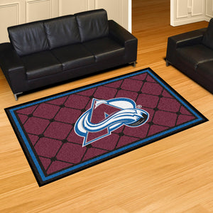 Colorado Avalanche Plush Rug - 5'x8'