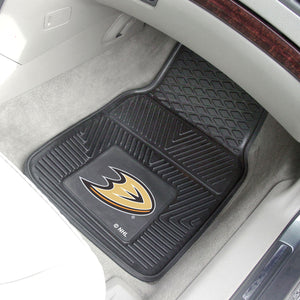 "Anaheim Ducks 2-Piece Vinyl Car Mats - 18""x27"""