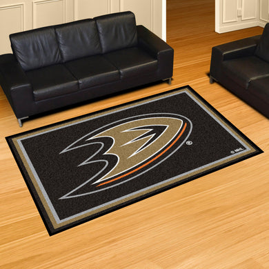 Anaheim Ducks Plush Rug - 5'x8'