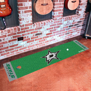 "Dallas Stars Putting Green Runner 18""x72"""