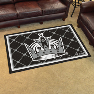 Los Angeles Kings Plush Rug - 4'x6'