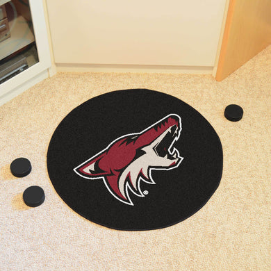 Arizona Coyotes Hockey Puck Rug - 27