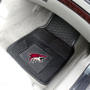 "Arizona Coyotes 2-Piece Vinyl Car Mats - 18""x27"""