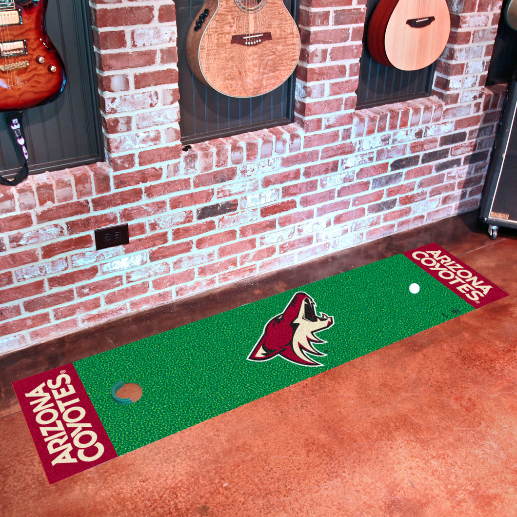 Arizona Coyotes Putting Green Runner 18