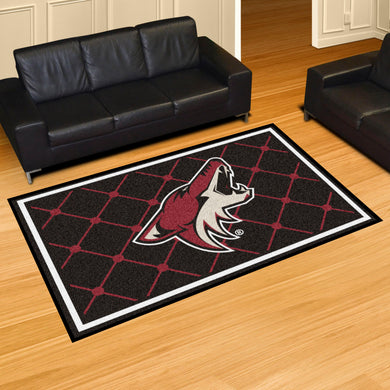 Arizona Coyotes Plush Rug - 5'x8'