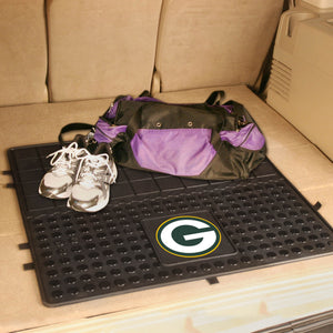 "Green Bay Packers Heavy Duty Vinyl Cargo Mat - 31""x31"""