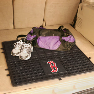 "Boston Red Sox Heavy Duty Vinyl Cargo Mat - 31""x31"""