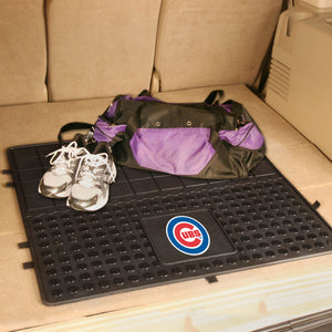"Chicago Cubs Heavy Duty Vinyl Cargo Mat - 31""x31"""