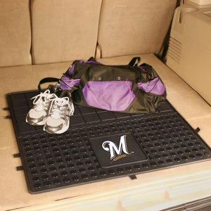 "Milwaukee Brewers Heavy Duty Vinyl Cargo Mat - 31""x31"""