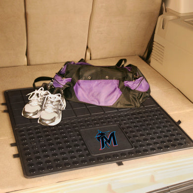 Miami Marlins Heavy Duty Vinyl Cargo Mat - 31