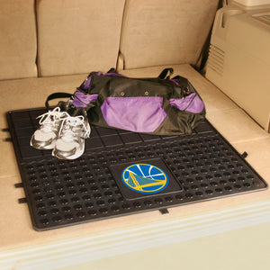 "Golden State Warriors Heavy Duty Vinyl Cargo Mat - 31""x31"""