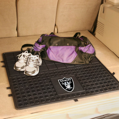Oakland Raiders Heavy Duty Vinyl Cargo Mat - 31
