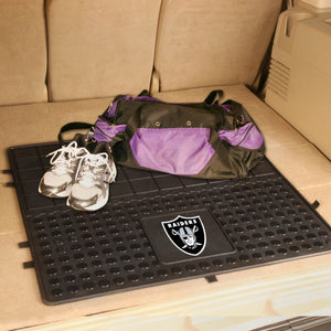"Oakland Raiders Heavy Duty Vinyl Cargo Mat - 31""x31"""