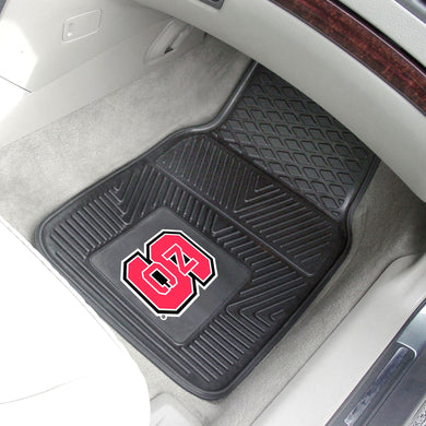 North Carolina State Wolfpack 2 Piece Vinyl Car Mats - 18