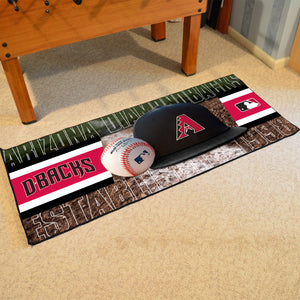"Arizona Diamondbacks Runner - 30""x72"""