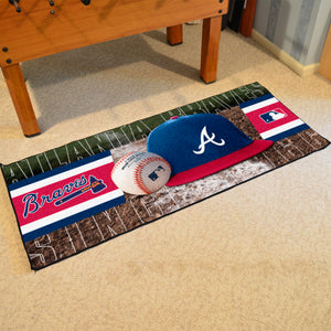 "Atlanta Braves Runner - 30""x72"""