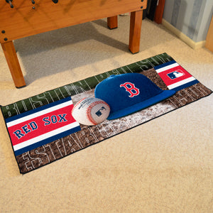 "Boston Red Sox Runner - 30""x72"""