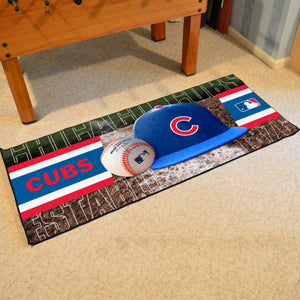 "Chicago Cubs Runner - 30""x72"""