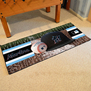 "Miami Marlins Runner - 30""x72"""