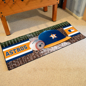 "Houston Astros Runner - 30""x72"""