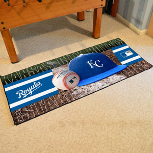 "Kansas City Royals Runner - 30""x72"""