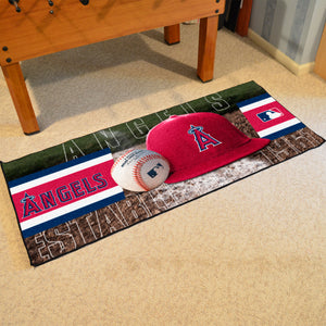 "Los Angeles Angels Runner - 30""x72"""