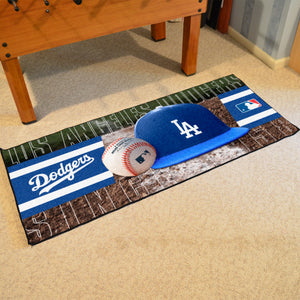 "Los Angeles Dodgers Runner - 30""x72"""
