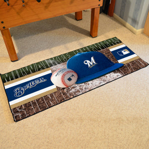 "Milwaukee Brewers Runner - 30""x72"""