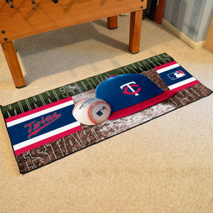 "Minnesota Twins Runner - 30""x72"""