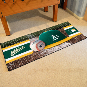 "Oakland Athletics Runner - 30""x72"""
