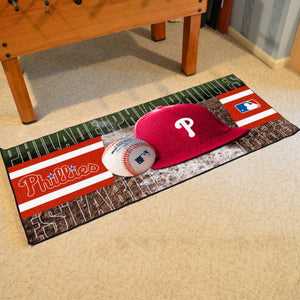 "Philadelphia Phillies Runner - 30""x72"""