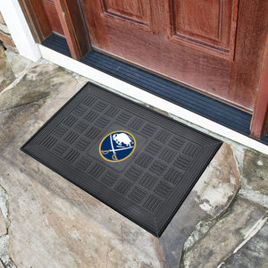 "Buffalo Sabres Medallion Door Mats - 19""x30"""