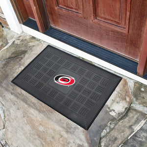 "Carolina Hurricanes Medallion Door Mats - 19""x30"""