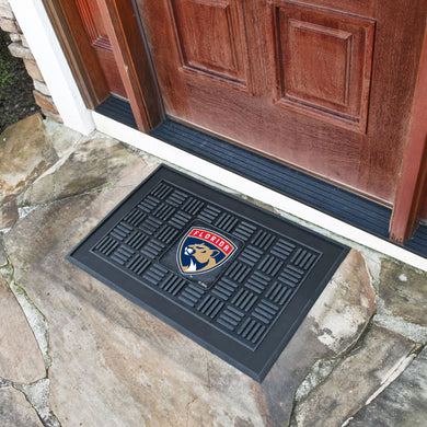 Florida Panthers Medallion Door Mats - 19