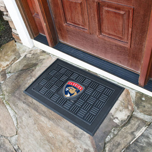 "Florida Panthers Medallion Door Mats - 19""x30"""