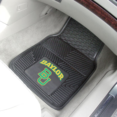 Baylor Bears 2 Piece Vinyl Car Mats - 18