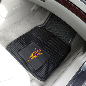 "Arizona State Sun Devils 2 Piece Vinyl Car Mats - 18""x27"""