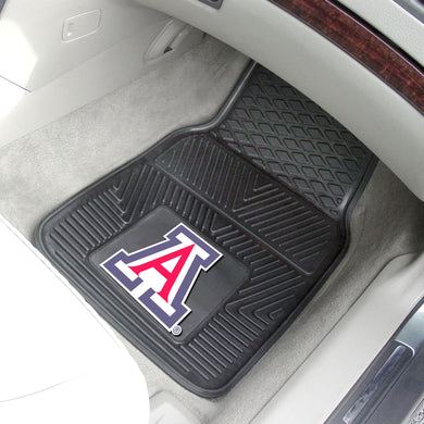 Arizona Wildcats 2 Piece Vinyl Car Mats - 18