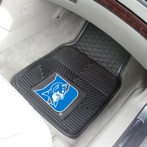 "Duke Blue Devils 2 Piece Vinyl Car Mats - 18""x27"""