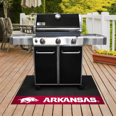 Arkansas Razorbacks Grill Mat 26