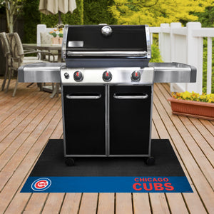 "Chicago Cubs  Grill Mat 26""x42"""
