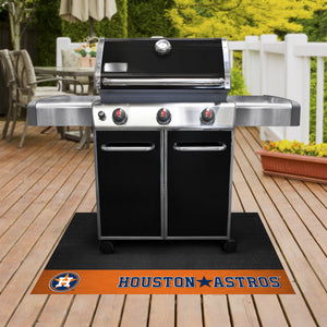 "Houston Astros  Grill Mat 26""x42"""