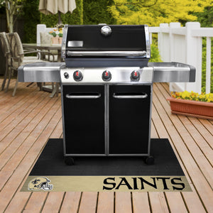 "New Orleans Saints Grill Mat 26""x42"""
