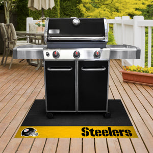 "Pittsburgh Steelers Grill Mat 26""x42"""